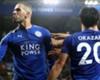 Islam Slimani celebrates scoring