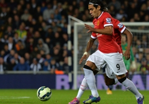 Manchester United striker Radamel Falcao