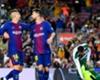 Barcelona duo Gerard Deulofeu and Lionel Messi