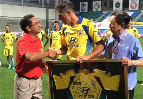 Brunei throw away lead, Duric signs off his career in style