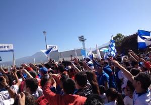 Miles de cruzados llegaron hasta San Carlos