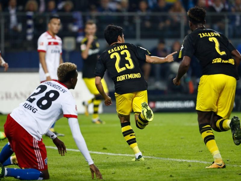 Hambourg-Dortmund 0-3, le Borussia reste leader