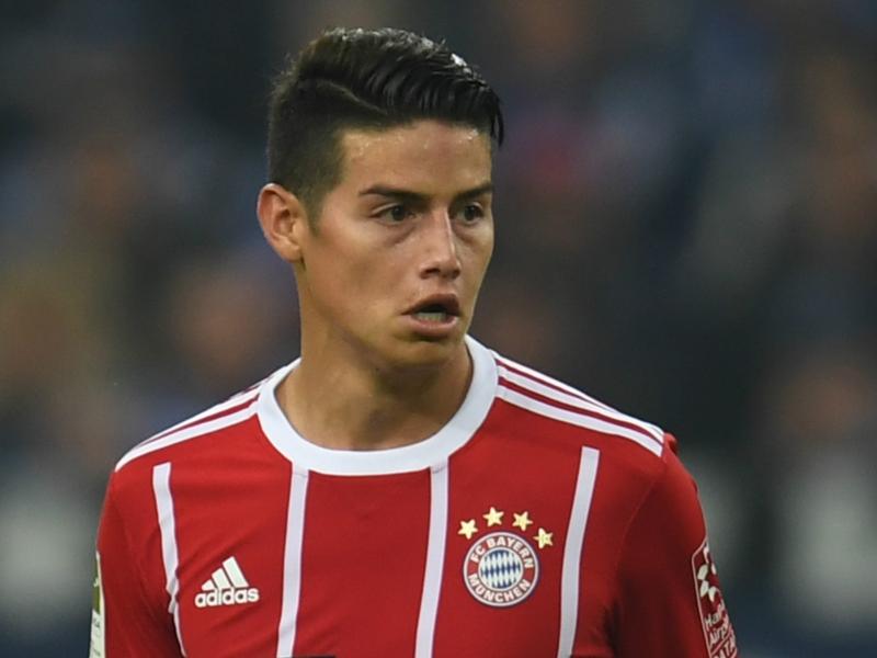 Bayern Munich - James n'était pas heureux au Real Madrid