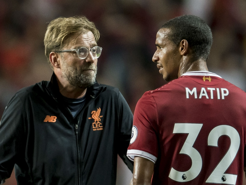Video: Klopp says Matip won't be fit for Champions League