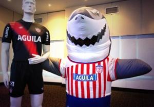 Willie el tiburón del Junior de Barranquilla