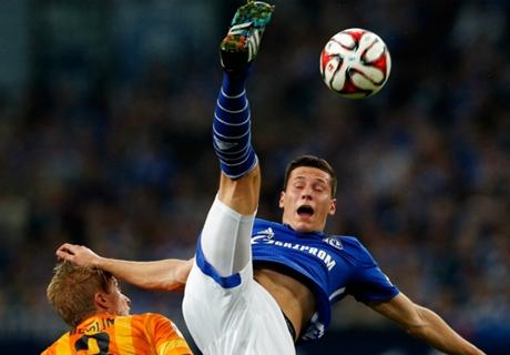 Schalke, Draxler se blesse