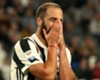 Gonzalo Higuain playing for Juventus