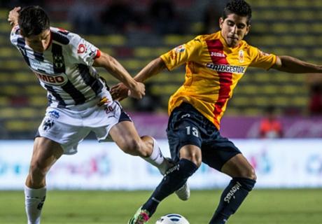 Liga Mx: Morelia 2-1 Monterrey