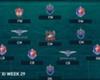 TOYOTA THAI LEAGUE BEST XI : ประจำสัปดาห์ที่ 29
