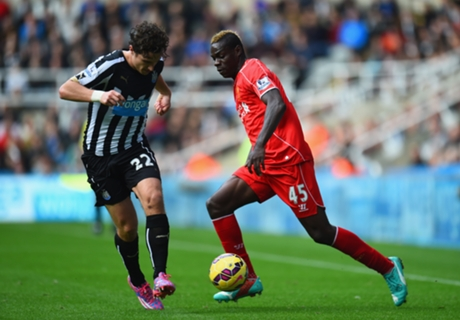 LIVE: Newcastle 0-0 Liverpool