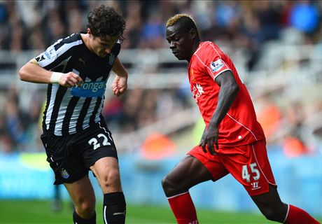 LIVE: Newcastle 0-0 Liverpool