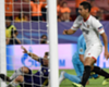 Sevilla's Wissam Ben Yedder nets his first goal against Maribor