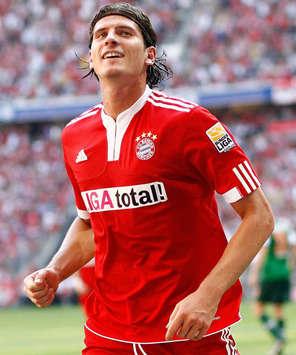 Bundesliga: FC Bayern Munich - Werder Bremen, Mario Gomez (firo)