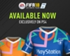 FIFA 18 Playstation 4 Kit