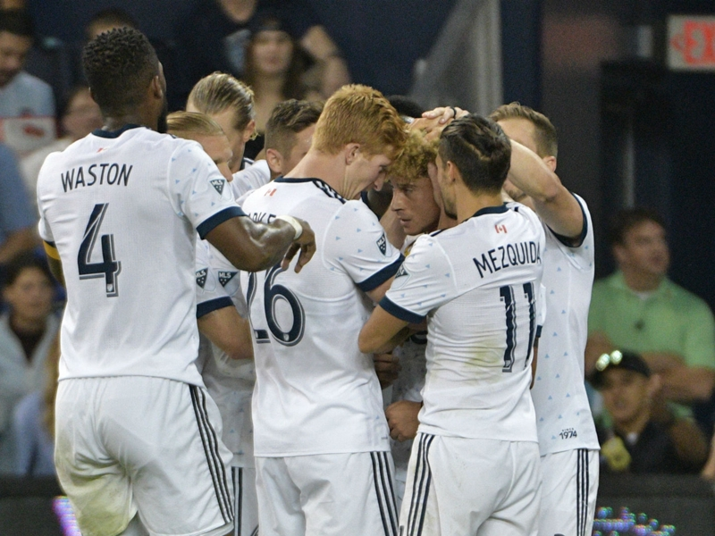 Vancouver Whitecaps become first Western Conference team to clinch playoff spot