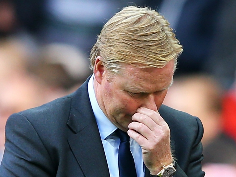 I feel sorry for Ronald Koeman, says Everton's Niasse
