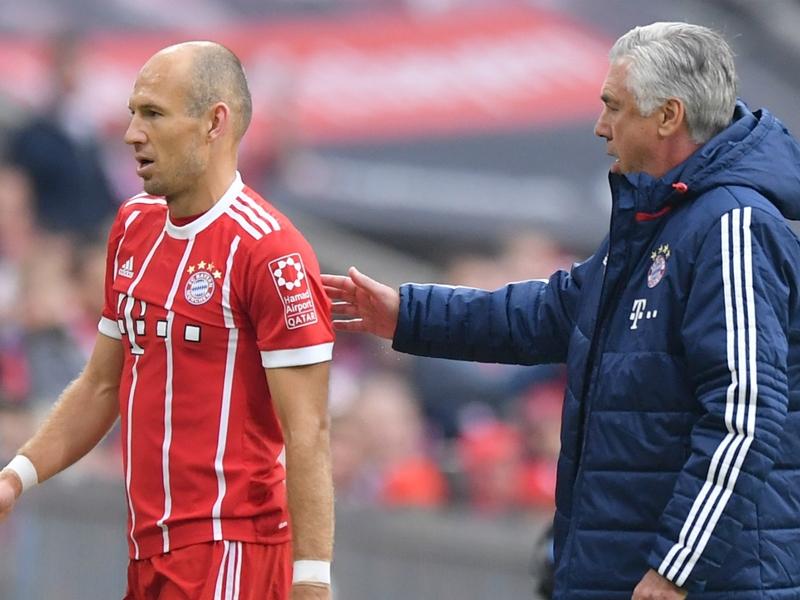 Robben denies criticising Ancelotti: It's bulls***!
