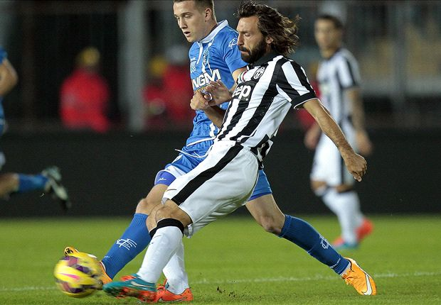 Empoli 0-2 Juventus: Pirlo and Morata take advantage of Roma defeat