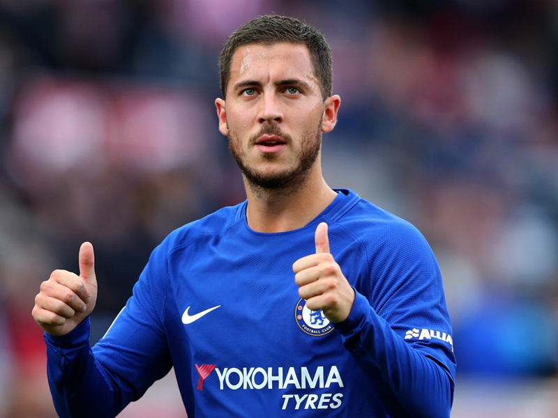 The key to Hazard's success? Taking it easy in Chelsea training