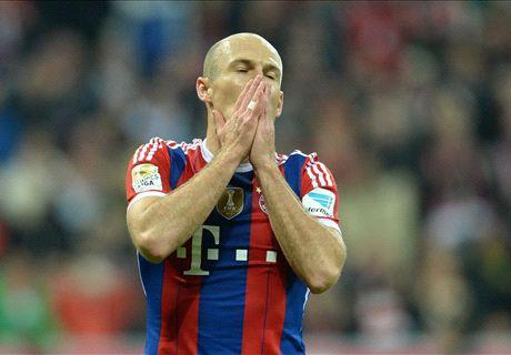 'Robben niet op shortlist Gouden Bal'