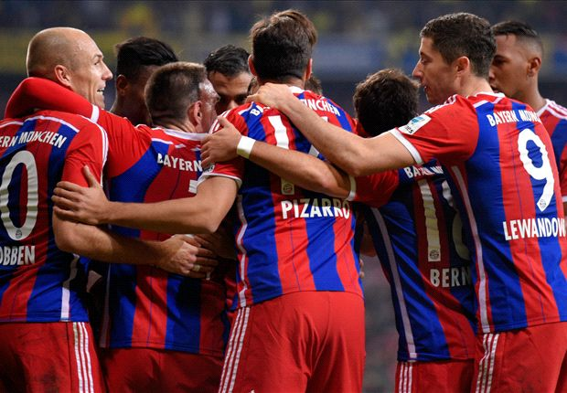Bayern Munich 2-1 Borussia Dortmund: Robben wins it late as BVB nightmare continues