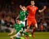 Seamus Coleman tackles Gareth Bale