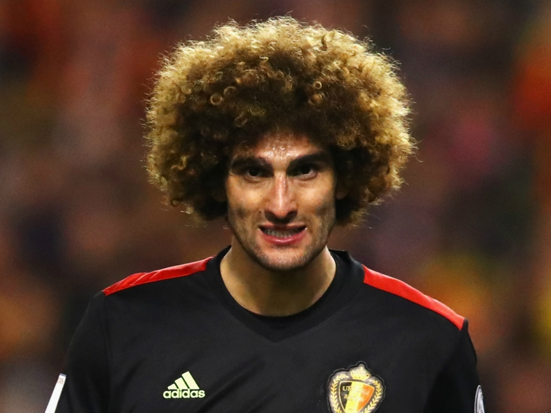 Man Utd's injury concerns mount as Fellaini suffers possible ligament injury