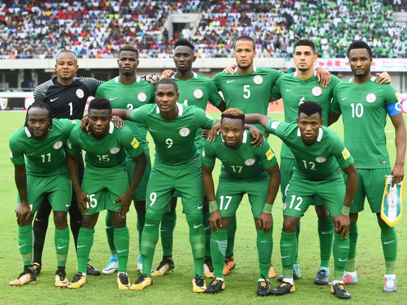 Nigeria unveil 2018 Fifa World Cup kits