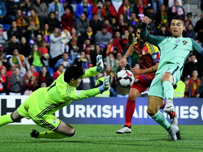 Andorra 0 Portugal 2: Rested Ronaldo the saviour for Euro 2016 champions