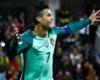 Portugal superstar Cristiano Ronaldo celebrates scoring against Andorra