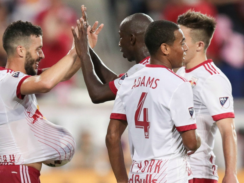 New York Red Bulls book playoff place with win over Vancouver