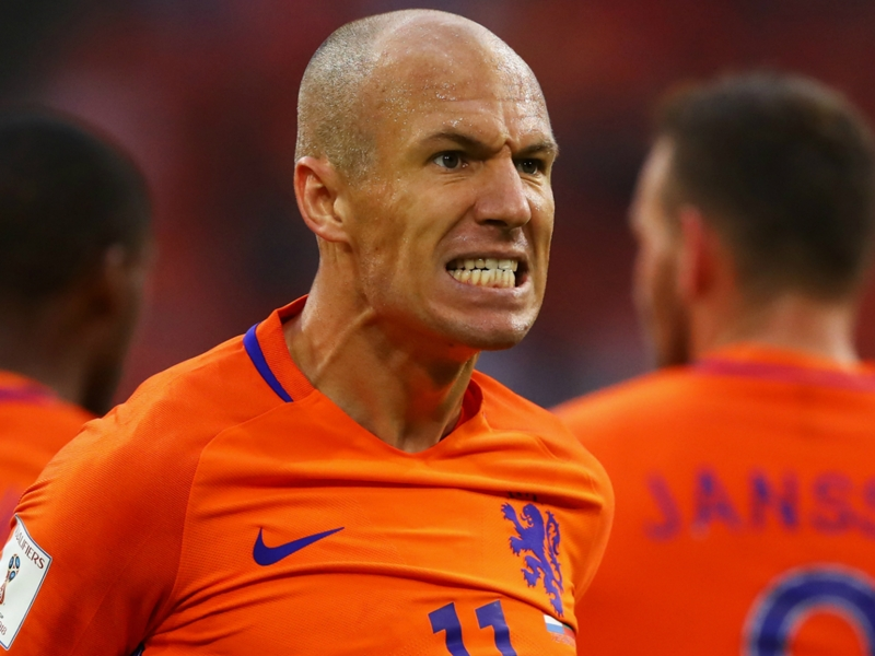 Robben: Netherlands' World Cup chances are over