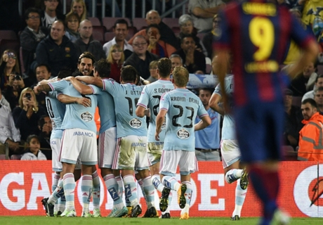 Résumé de match, Barcelone-Celta Vigo (0-1)