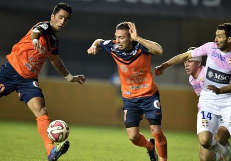 Résumé de match, Montpellier - Evian TG (2-0)