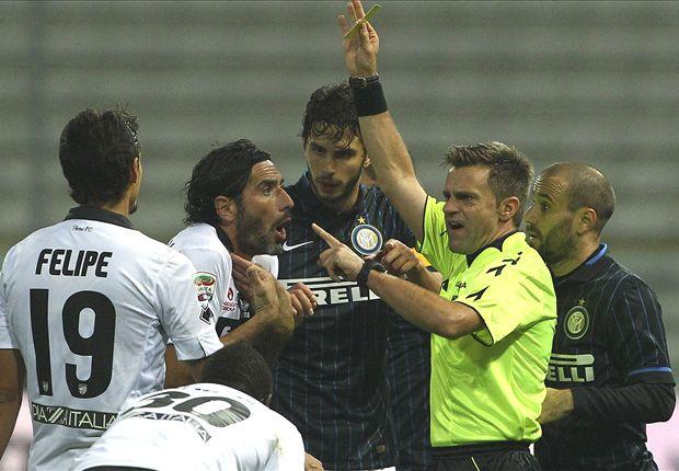 Parma 2-0 Inter: De Ceglie double increases pressure on Mazzarri