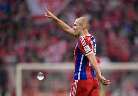 Robben, fuera del BDO: 'Es una vergüenza'