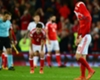 Wales players react to their defeat to the Republic of Ireland
