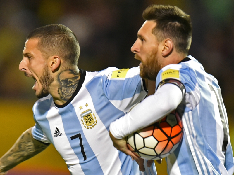 Messi becomes first to score 20 goals in South American World Cup qualifying