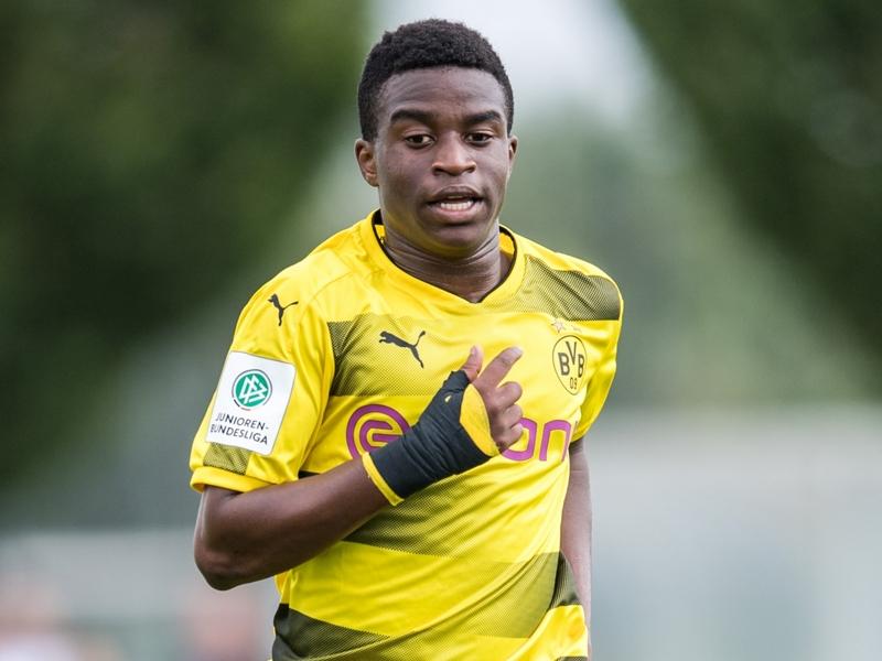 'He really is 12 years old' - Dortmund youth coordinator defends wonderkid Moukoko