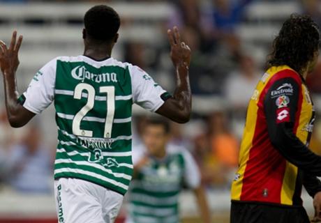 Liga Mx: Leones Negros 1-1 Santos