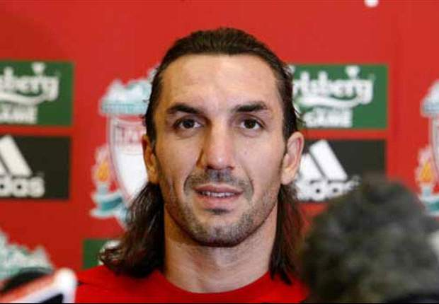 Sotirios Kyrgiakos proud to hear Liverpool fans sing his name