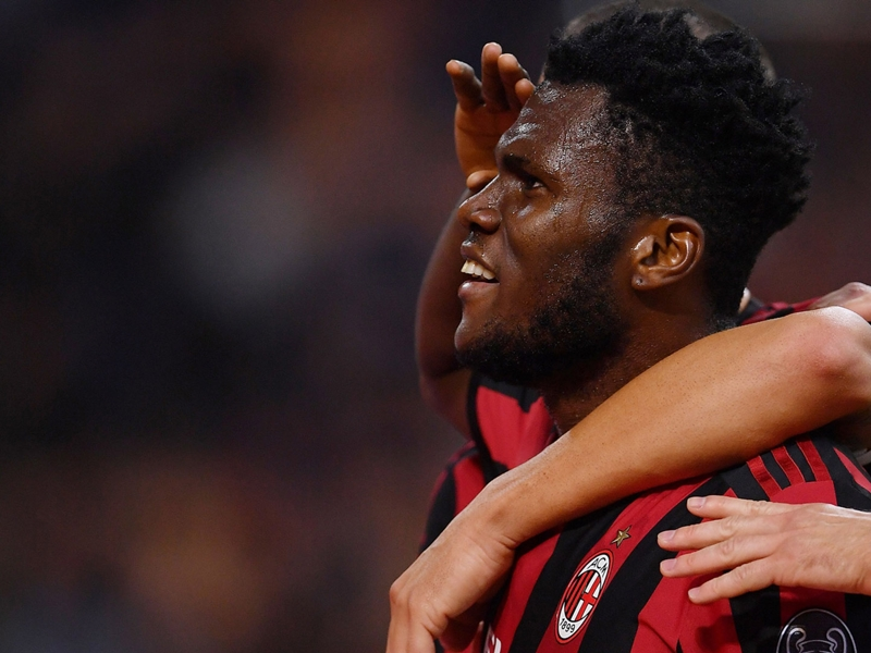 AC Milan 'must win derby' di Milano, says Franck Kessie