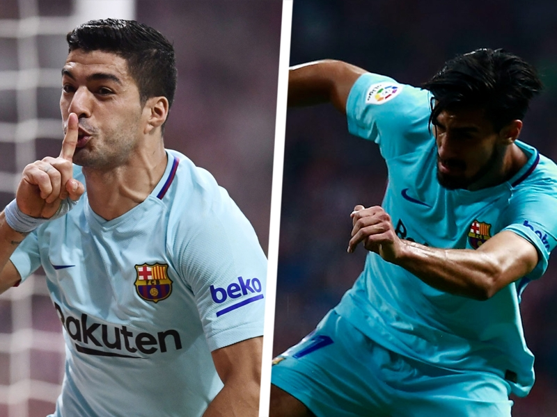 Suarez proves worth to Barcelona but Gomes looks a lost cause