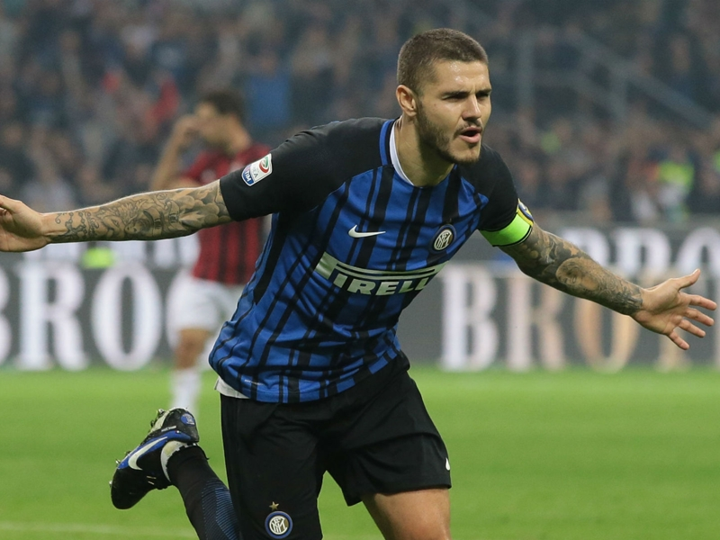 Inter 3 AC Milan 2: Brilliant Icardi treble breaks Rossoneri hearts
