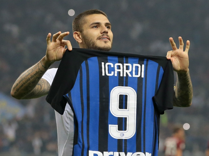 Inter hero Icardi relishes derby hat-trick: 'I had to score today'