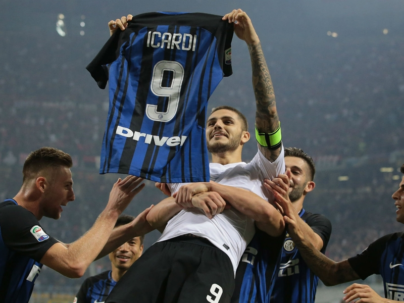 Spalletti hails Inter's derby hero Icardi as 'complete striker'