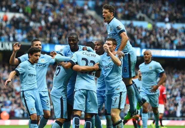 Manchester City 1-0 Manchester United: Aguero wins derby after foolish Smalling red