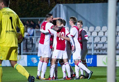 Cassierra schittert opnieuw voor Jong Ajax