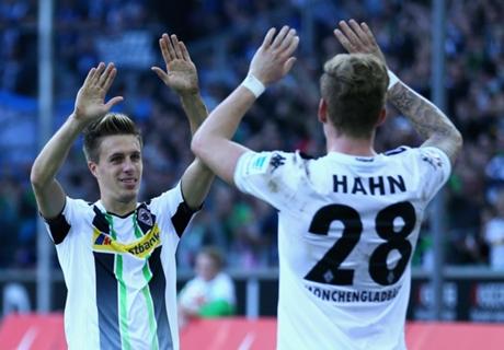 Résume de match, Le Borussia M'Gladbach suit la cadence