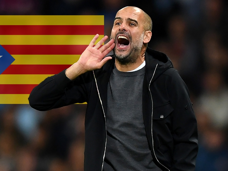 Guardiola dedicates Man City win to imprisoned Catalan independence leaders